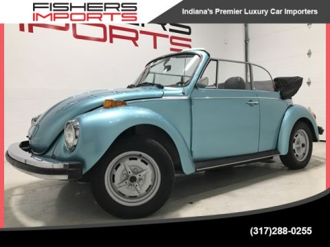 Pre-Owned 1979 Volkswagen Beetle Convertible