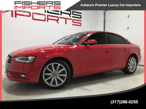 Certified Pre-Owned 2013 Audi A4 2.0T Premium Plus